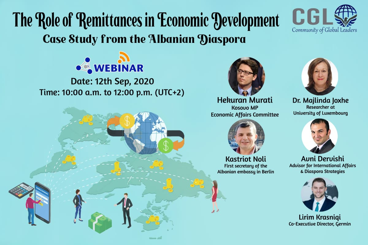 The role of remittances in economic development: A case study from the Albanian Diaspora